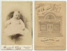 STUDIO PORTRAIT BABY FROM CROWN POINT, IN, CAB PHOTO BY HAYWARD