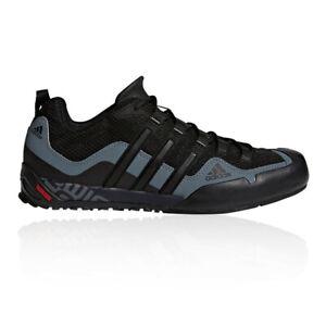 Adidas Mens Terrex Swift Solo Approach Chaussures Noir Sport Extérieur Respirant