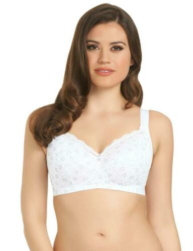 Freya Pollyanna Bra White Size 30HH 32H Wire Free Soft Full Cup 4861 New