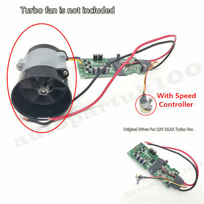 Original Driver w//Speed Regulating Switch For 16.5A Turbo Charger Air Intake Fan