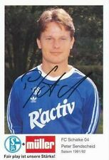 AK 186 Peter Sendscheid FC Schalke 04 91/92