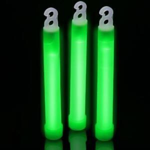 30-6-Industrial-Grade-Green-Light-Sticks-Bright-Color-Glow-12Hrs-Safety-Sticks