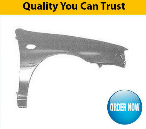 1993-1998 Subaru Impreza Front Wing With Moulding Hole Driver Side High Quality