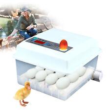 New Listing16 Egg Incubator Automatic Digital Birds Egg Turner Hatcher Temperature Control