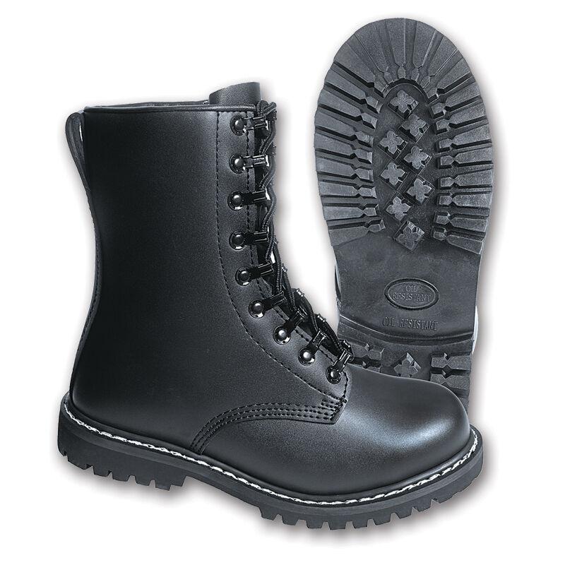 Brandit Combat Boots Gothic Steel Cap Ranger Boots Punk Rock Biker