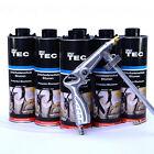 6 Liter Unterbodenschutz Bitumen schwarz plus 1ubs Spritzpistole Autolack E0016