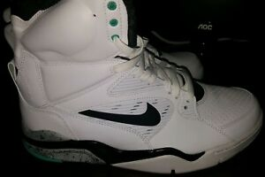 26ca5324494 Nike Air Command Force White Black Wolf Grey Hyper JD Mens Size 10.5 ...