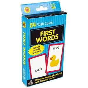 Carson-Dellosa-First-Words-Flash-Cards-54-Cards-for-Phonics-by-Brighter-Child