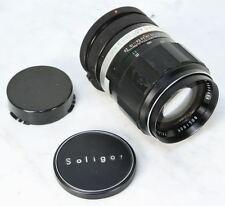Vintage SOLIGOR Tele-Auto Lens. 135mm 2.8f for Canon FD Mount RARE