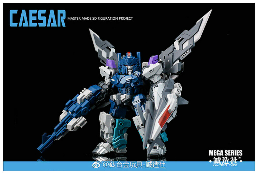 Pre-order Transformers Master Made SDT-06 Caesar Mini OVERLORD Action figure