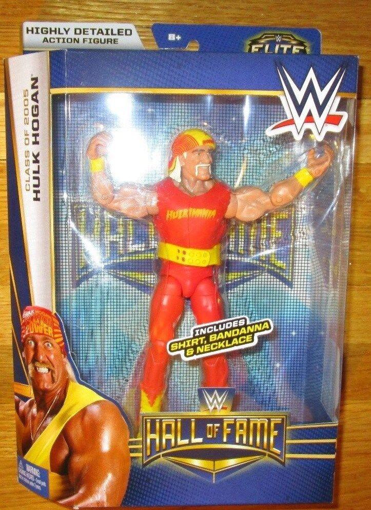 WWE ELITE HALL OF FAME HULK HOGAN FIGURE WWF TARGET EXCLUSIVE HOF HULKAMANIA