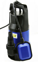 1/2hp 2115gph Submersible Sump Pump Water Pumps Empty Pool Pond Flood 25ft Cord on sale