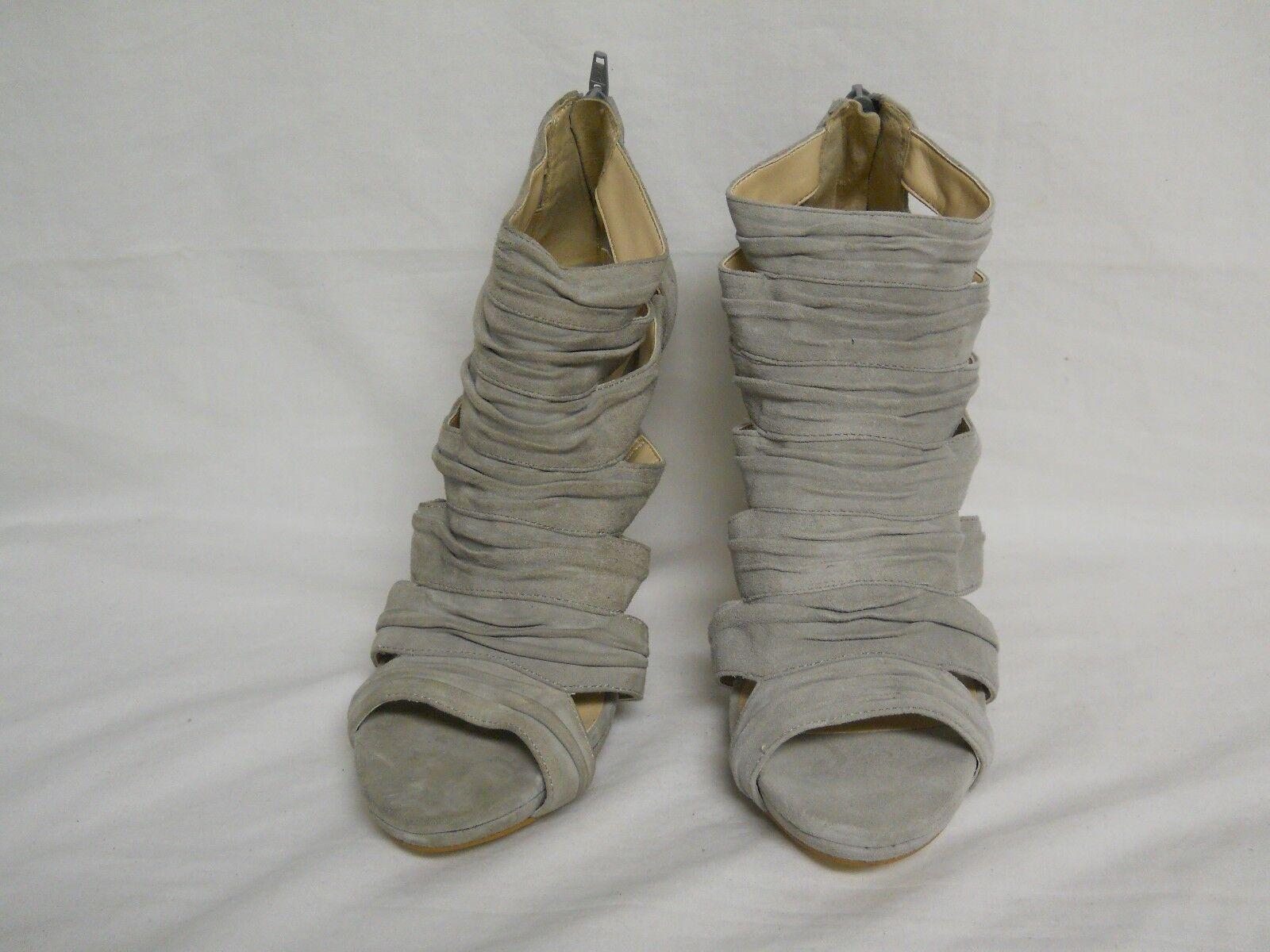 INC Gray International Concepts Kiera New Store Display Damenschuhe Gray INC Heels 9.5 M Schuhes 26ebe7