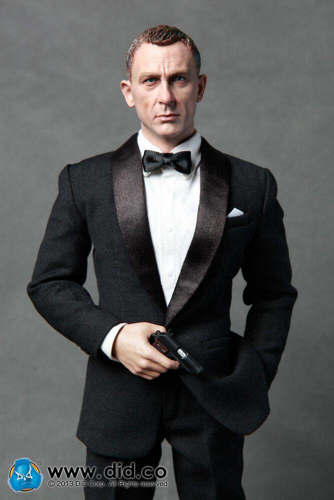 JACK AGENTE MI6 DID SCALA 16 James Bond 12 DA COLLEZIONE azione cifra