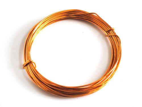 10x Brass Wire .8mm x 6m Jewellery X1112 Hobby Modelling