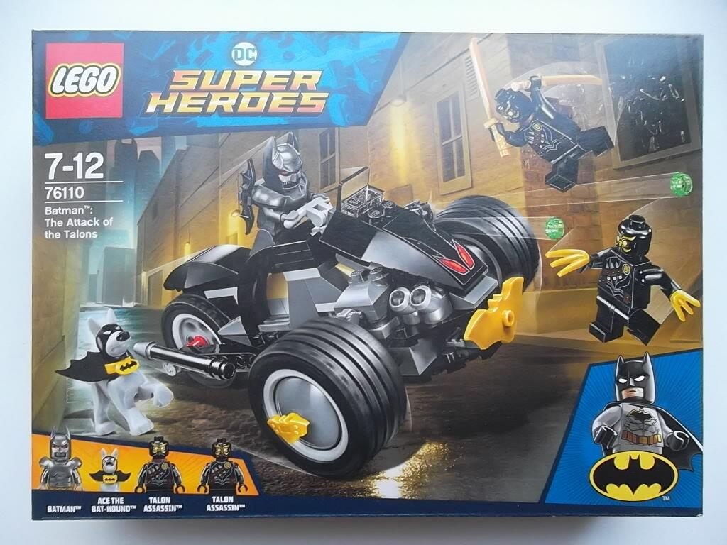 NEUF - - - LEGO DC Comics Super Heroes BATMAN (n°76110)   L'Attaque des Hiboux d27104
