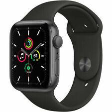 Apple Watch SE 40mm GPS Caja de aluminio en gris espacial Correa deportiva Negro