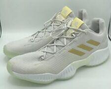 Adidas Pro Bounce 2018 Grey Gold Metallic Basketball Shoes 9 Mens B41863