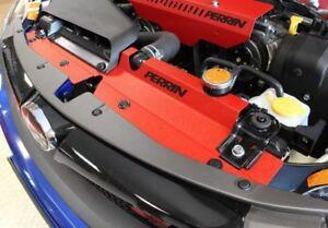 Perrin Red Radiator Shroud For Subaru 2015-2019 WRX//2015-2019 STi