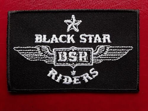 BLACK STAR RIDERS AMERICAN HEAVY METAL ROCK BAND EMBROIDERED PATCH UK SELLER