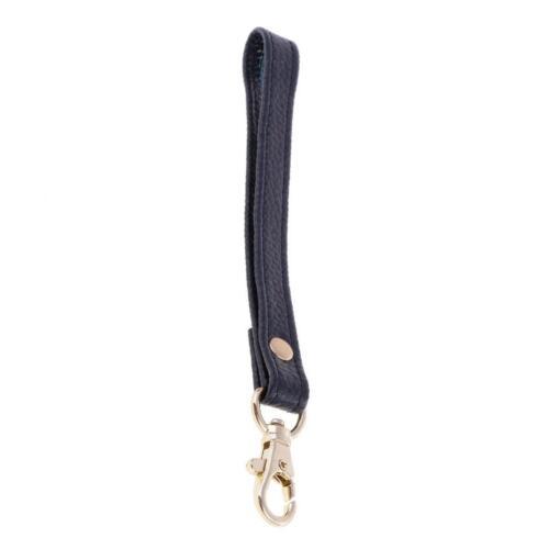 Echtes Leder Ersatz Handschlaufe für Clutch Wristlet Geldbörse