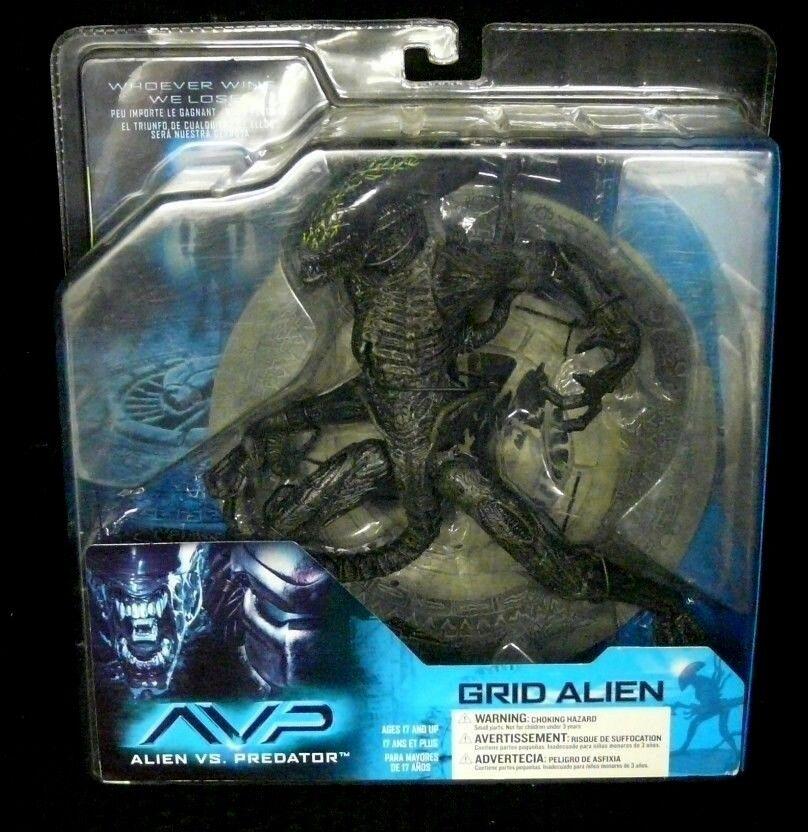 Alien Vs P rojo ator Grid Alien Nuevo  Raro  figura de acción McFarlane spawn  Avp