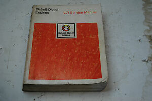 detroit diesel v71 service manual ebay rh ebay com Detroit Diesel 8V92TA Engines detroit diesel series v71 service manual