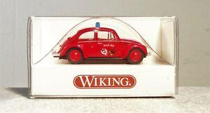 Wiking 1:87 861 53 VW Cox 1200 POMPIER FRANCAIS de liaison NEUF avec neuf dans sa boîte