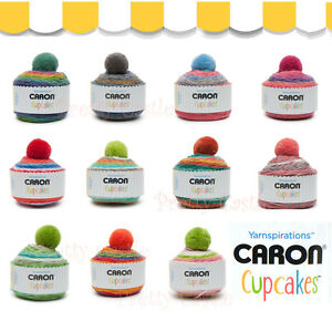 NEW   12 COLORS Caron CUP CAKES Gradient Worsted Yarn Ball Acrylic ... 373ae364c13