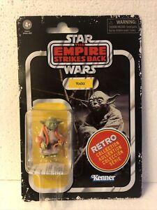 Yoda Vintage Star Wars Action Figure Retro Collection Kenner Hasbro Disney new