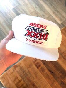 3e1b537b Vintage Sports Specialties San Francisco 49ers Super Bowl XXIII Hat ...