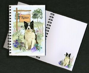 Border-Collie-Dog-Notebook-Notepad-small-image-on-every-page-By-Starprint