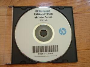 Original-Start-up-disk-for-HP-DesignJet-T1500-T920-Plotters-Drivers-Manuals-DVD