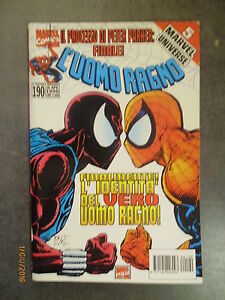 L'UOMO RAGNO n° 190 - Ed. Marvel Italia - 1996