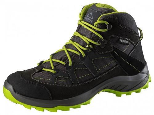Wanderschuhe McKinley Discover Mid AQX M Trekking Herren 245936 anthrazit/grün *UVP 109,99