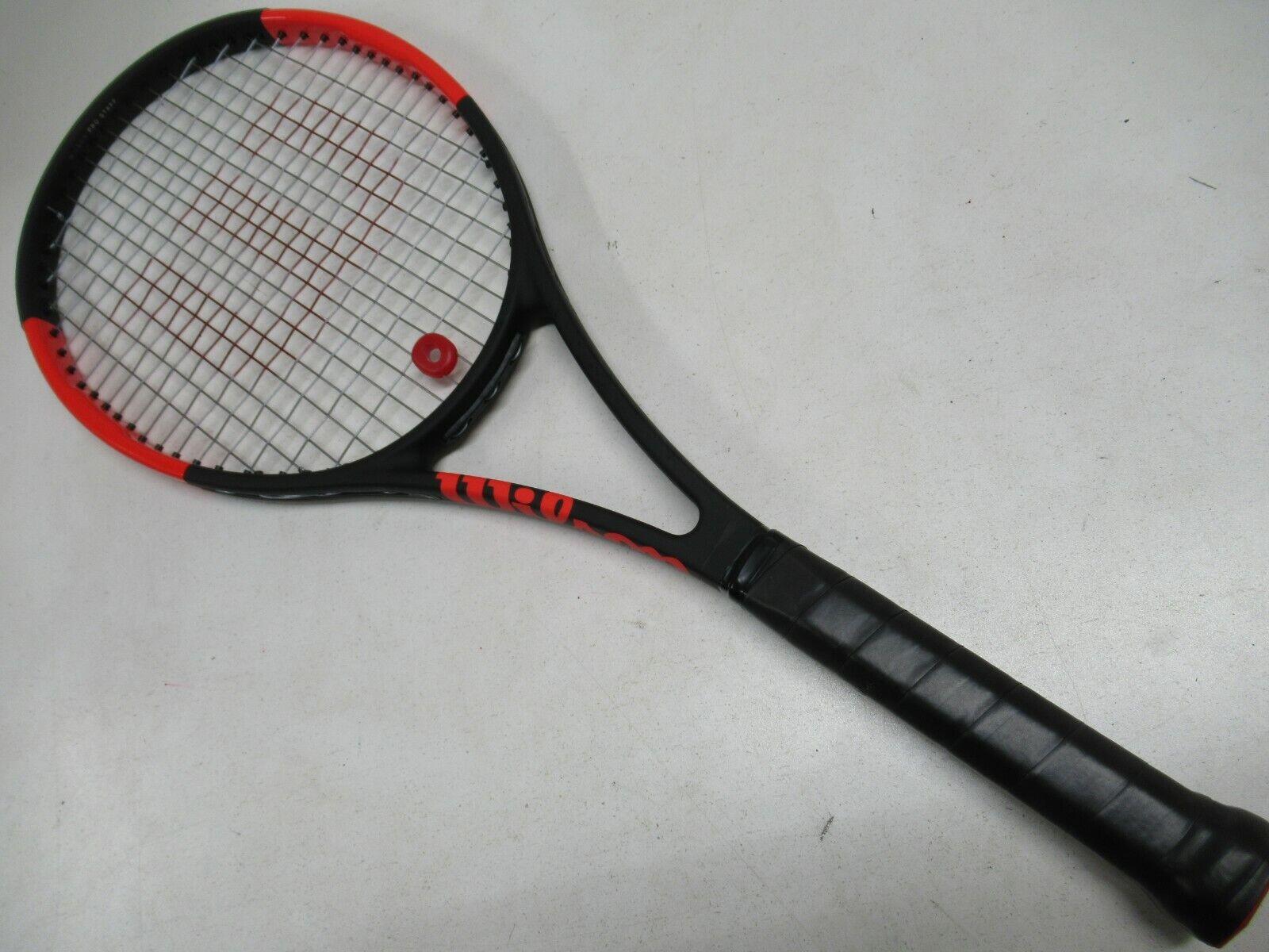 Pro Staff Wilson 97 (Negro Rojo) tenis raqueta (4 1 4) distribuidor autorizado de demostración
