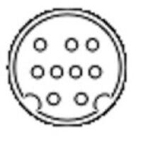 Mini Din 9 pin Male to Male 6 ft Black Cable B Type PLEASE READ DESCRIPTION