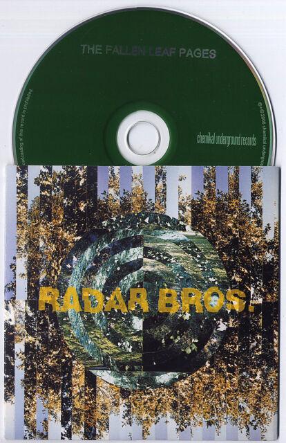 RADAR BROS The Fallen Leaf Pages 2006 UK 13trk promo CD
