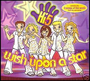 HI-5-WISH-UPON-A-STAR-AUSTRALIAN-KIDS-CHILDREN-CD-TV-TELEVISION-NEW