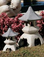 1 Pagoda Garden Lantern Statue , Durable Resin Feature Yard Lawn Home Medium on sale