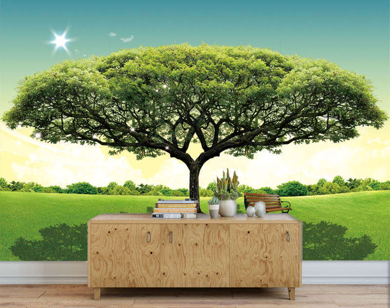 Empty Quiet Sky 3D Full Wall Mural Photo Wallpaper Printing Home Kids Decor