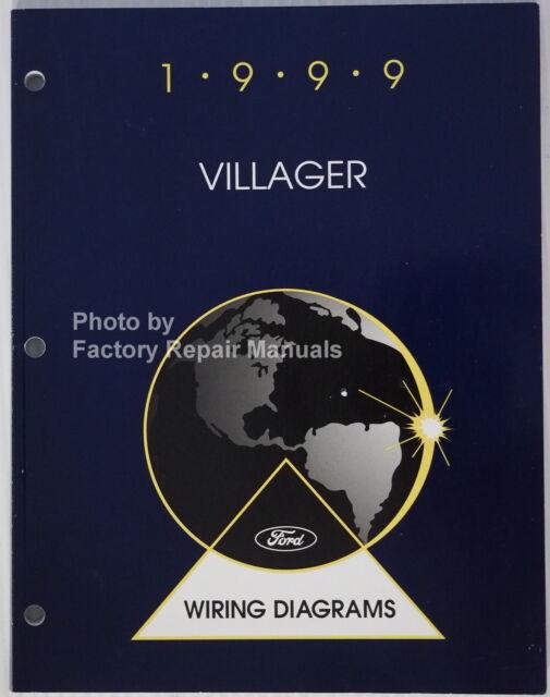 1999 Mercury Villager Electrical Wiring Diagrams Original
