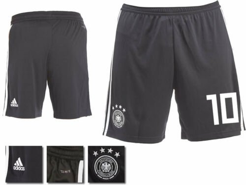 NUMBER 10 GERMANY 2018 WORLD CUP ADIDAS HOME SHORTS = ADULTS