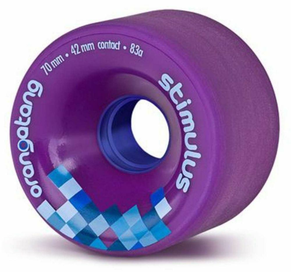 Orangatang Stimulus - 70mm 83a Purple