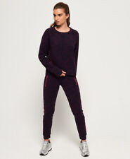 Superdry Womens Core Gym Tech Panel Joggers