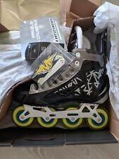 1f4d5759b4e item 8 Mission Inhaler NLS2 Senior RH Hockey Roller Skate