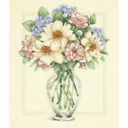 Dimensions Flowers in Tall Vase Counted Cross Stitch Kit 12x14 390813