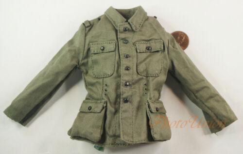Dragon 1//6 WW2 GERMAN MOUNTAIN INFANTRY ARMY SOLDIER TUNIC JACKET UNIFORM DA187