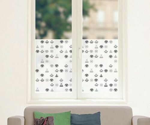 Fensterfolie Space Men Milchglasfolie Sichtschutz Fenstersticker Raumfahrer
