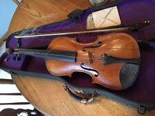 Antique 4/4 Violin Label Jacobus Stainer in Absam Prope Oenipontum 1654 1850's?